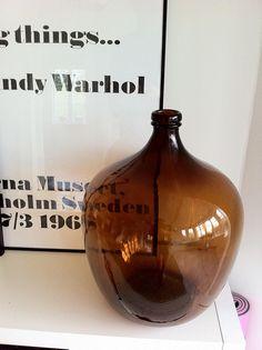 New glass vase @ my house