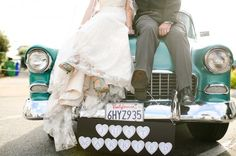 Getaway in style: Unique and crazy ways brides and grooms have ridden off into the sunset