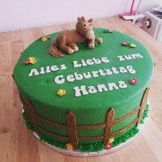 Pferde Torte Horse Cake Fondant Cake