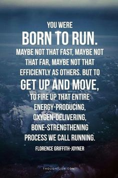 That's me... not as fast or as far or as efficiently as others. But I still run.