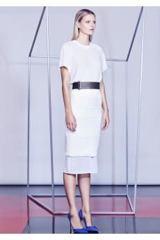The Club Card Top and Adversary Skirt from the SS14 collection by CAMILLA AND MARC.