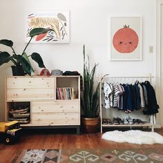 Montessori closet inspiration // See this Instagram photo by @calivintage • 2,485 likes