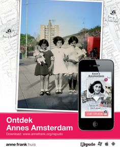Anne's Amsterdam. A new app where you can read about places relevant to Anne Frank and the Holocaust in Amsterdam. Just slightly unfortunate that you have to be in Amsterdam to use it!