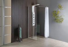 WALK-IN zástěna jednodílná k instalaci na zeď, 900x1900 mm, sklo čiré : SAPHO E-shop Program, Divider, Bathtub, Bathroom, Furniture, Home Decor, Standing Bath, Washroom, Bathtubs