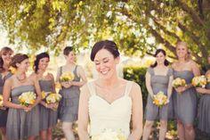Love the scheme for a summer wedding!