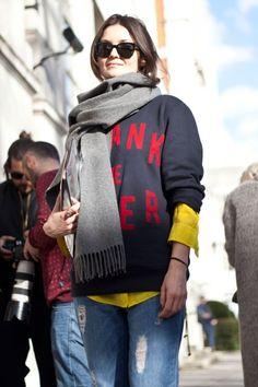 Street Style: London Fashion Week Fall/Winter 2014 | Vanity Fair