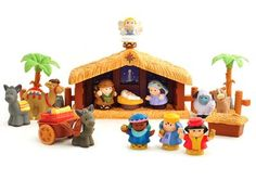Little People Nativity Set  - This is SOOO cute -- wish I knew someone with little kiddos -- I would soooo get this for them!!!