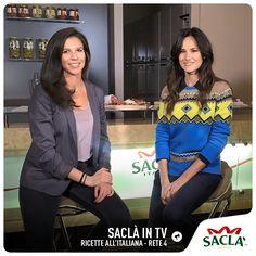 Ci stiamo preparando per una diretta tv insieme a Chiara Ercole di Saclà e Michela Coppa su Rete 4 nella trasmissione Ricette all'Italiana. Domani dalle ore 10.50.