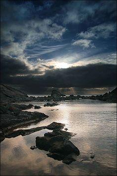 Twilight - Meadfoot Beach, Devon, UK