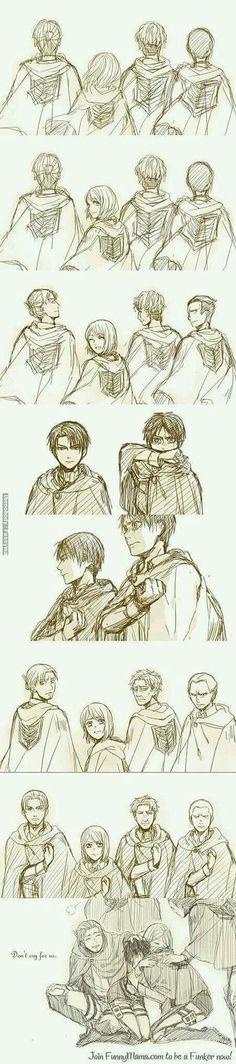#進撃の巨人 #Attack_on_Titan #Shingeki_no_kyojin #Levi_Ackerman #Eren_Jaeger #Legión_de_Reconocimiento #Grupo_de_expedición