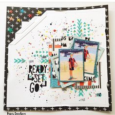 I just love this fun layout that our lovely @paper_sweetpea had created using…