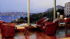 Living Lounge at Ritz Carlton Istanbul