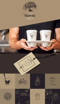 Branding by Isabela Rodrigues for The Willow Tree Coffee CO.Check out more of this branding project by Isabela Rodrigues for The Willow Tree Coffee CO. on WE AND THE COLOR.Follow WE AND THE COLOR on:Facebook I Twitter I Google+ I Pinterest I Flipboard I Instagram
