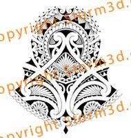 halfsleeve-tattoo-patterns-polynesian-island-maori-style