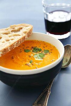 LE MIAM MIAM BLOG soupe de courge patidous et feve tonka 0002