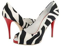i love zebra and red <3