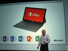 Steve Ballmer apresentou o Office 2013 num evento da Microsoft em São Francisco, na Califórnia, na segunda-feira à tarde