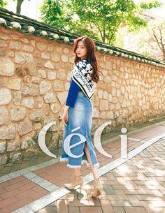 Oh Yeon Seo - Céci Magazine September Issue Oh Yeon Seo, Korean Babies, Everything Pink, Cute Korean, Korean Actresses, Editorial Fashion, Korean Fashion, Photoshoot, China
