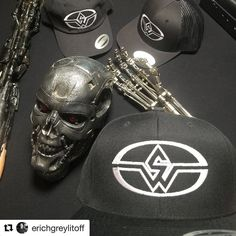 #Repost from our co-founder @erichgreylitoff  We got hats @stanwinstonschool first run #hats and some #terminator #art #science #technology #school #practicaleffects #specialeffects #t2 #t3 #t4