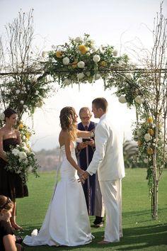 Rock the Wedding: Birdie & Matt in Santa Barbara, CA   BridalGuide