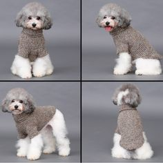 Pet Dog Woolen Sweater Puppy Knitwear Clothes