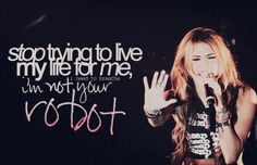 I've never heard this song but I like what it says on the picture xD