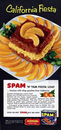 1955 - Spam  'N' Peach Fiesta!
