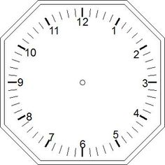 pray without ceasing coloring page - a clock template that can be used as a craft with the