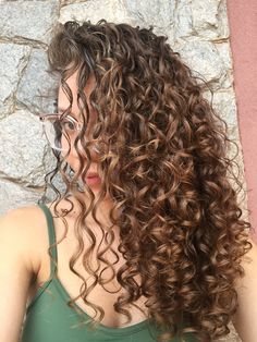 Long spiral perm long perm look book в 2019 г. Dyed Curly Hair, Colored Curly Hair, Curly Hair Styles, Natural Hair Styles, Permed Hairstyles, Pretty Hairstyles, Long Perm, Spiral Perm Long Hair, Spiral Perms