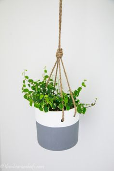 How To Install A Hanging Pot Feature — The Whimsical Wife | Cook | Create | Decorate