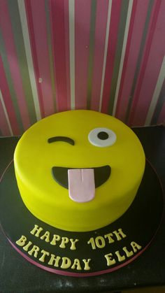 See 2 photos from 6 visitors to Cupcake Couture. Emoji Cake, Cupcake Couture, Birthday Cake, Desserts, Food, Tailgate Desserts, Deserts, Birthday Cakes, Essen