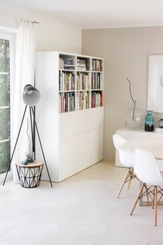 The most beautiful ideas with the IKEA BESTÅ system White Furniture, Furniture Sale, Unique Furniture, Furniture Plans, Diy Interior, Interior Design, Ikea Eket, Modular Table, Ikea Bedroom