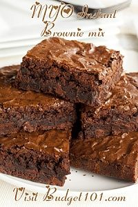 Homemade Instant Brownie Mix