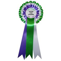 Votes for Women Suffragette 100 Year Anniversary Rosette