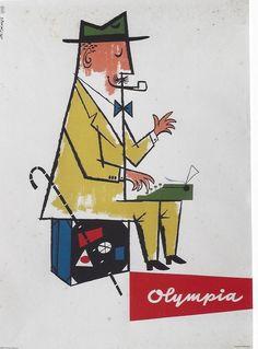 Olympia typewriter (1950)