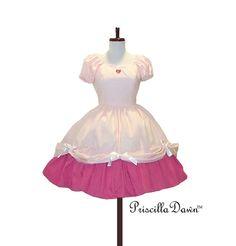 Pretty Heart Princess Tea Dress Custom in your by priscilladawn