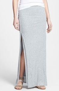 Soft Joie 'Dacie' Side Slit Jersey Maxi Skirt | Hukkster