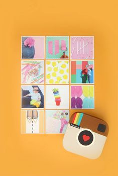 Easy DIY Instagram in a Box craft project | Damask Love #creatives #crafts #diy Diy Crafts For Adults, Diy Crafts For Gifts, Paper Crafts, Summer Crafts, Creative Arts And Crafts, Popular Crafts, Mason Jar Crafts, Mason Jar Diy, Craft Tutorials