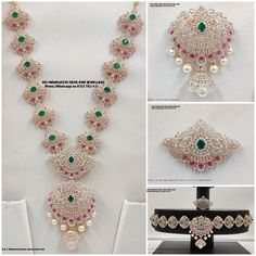 Detachable Multipurpose Diamond Jewellery ~ South India Jewels