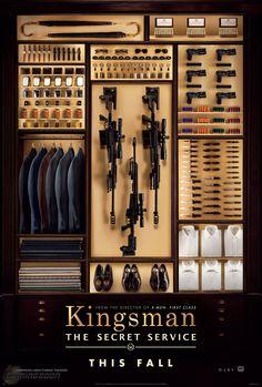 Teaser Poster for Matthew Vaughn's Kingsman: The Secret Service