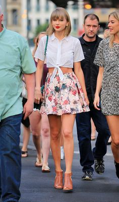 Taylor Swift out and about in New York 5/29/15