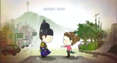 I loved Rooftop Prince. It's my favorite drama! I have to re-watch it sometime soon. Lee Min Ho, Chibi, Weird Songs, Do Bong Soon, Cute Couple Cartoon, Korean Drama Movies, Korean Dramas, Weightlifting Fairy, Best Dramas