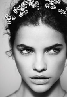 barbara palvin beauty photos5 Floral Flush: Barbara Palvin Wows in Spring Looks for Marie Claire France