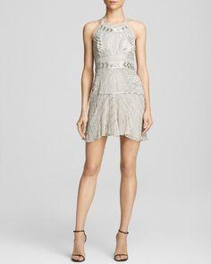 Parker Leona Beaded Dress