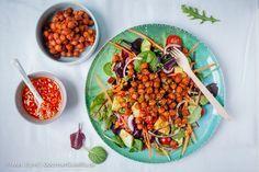 {Vegan} Rauchiger Ponderosa BBQ-Salat. Da werden selbst Nicht-Veganer total schwach.