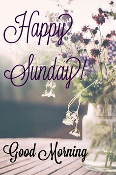 Happy Good Morning Quotes, Sunday Morning Quotes, Good Morning Good Night, Happy Sunday, Sunday Greetings, Morning Greetings Quotes, Sunday Prayer, Morning Pictures, Blessed
