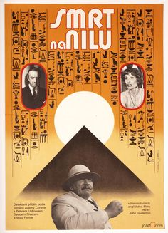"Agatha Christie's ""Death on The Nile"". Original movie poster from…"