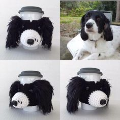 Wouldn't you like to see your dog recreated in yarn? hookedbyangel.etsy.com