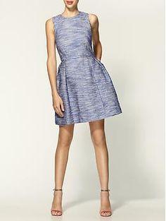 {30} [...matching the lavender fields around me...]  Shoshanna Belle Serengeti Tweed Dress | Piperlime