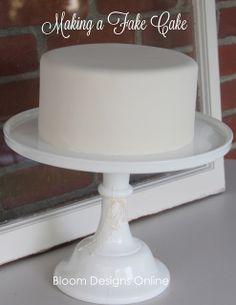 Fake Cake...party center piece
